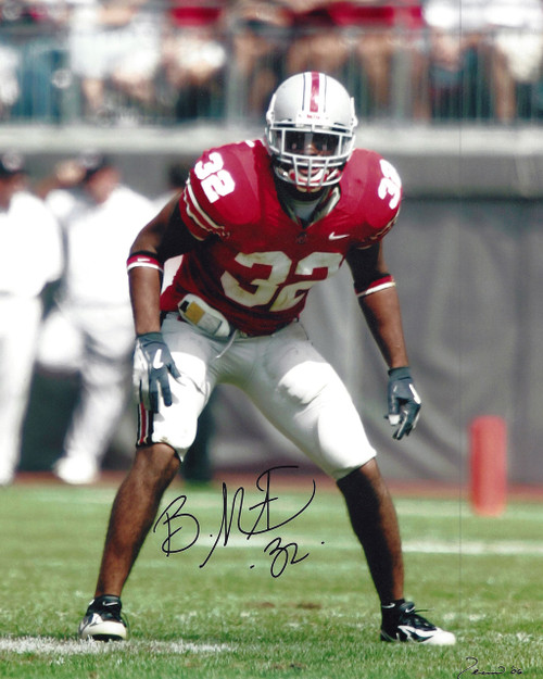 Brandon Mitchell OSU 8-1 8x10 Autographed Photo - Certified Authentic