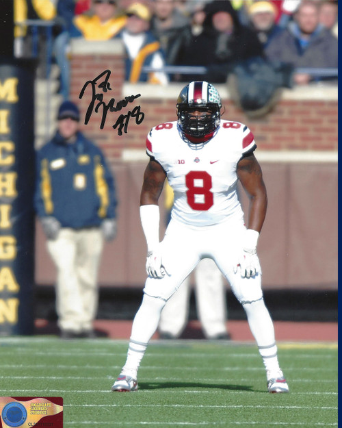 JT Moore OSU 8-1 8x10 Autographed Photo - Certified Authentic