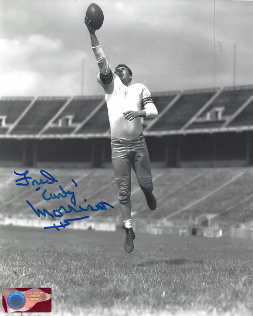 Fred Curly Morrison OSU 8-2 8x10 Autographed Photo - Certified Authentic