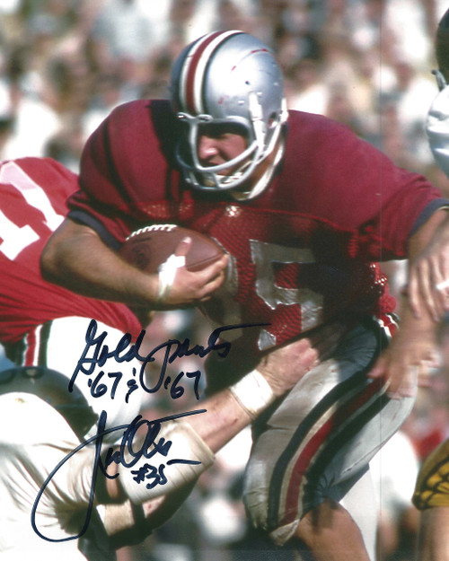 Jim Otis OSU 8-1 8x10 Autographed Photo - Certified Authentic