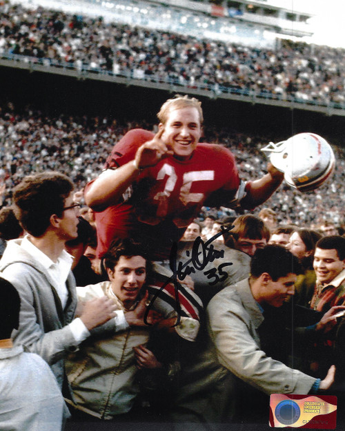 Jim Otis OSU 8-3 8x10 Autographed Photo - Certified Authentic