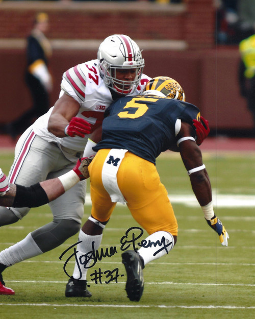 Joshua Perry OSU 8-1 8x10 Autographed Photo - Certified Authentic