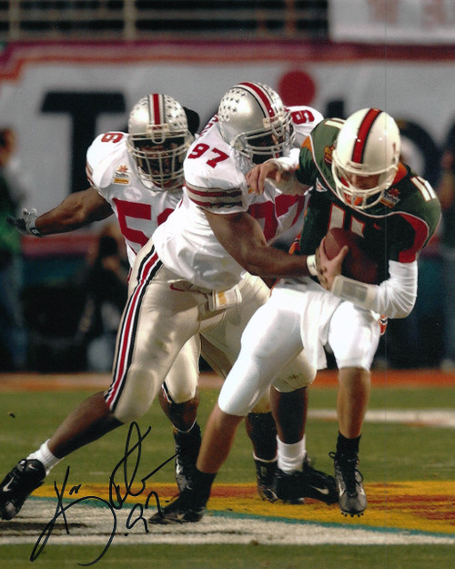 Kenny Peterson OSU 8-1 8x10 Autographed Photo - Certified Authentic