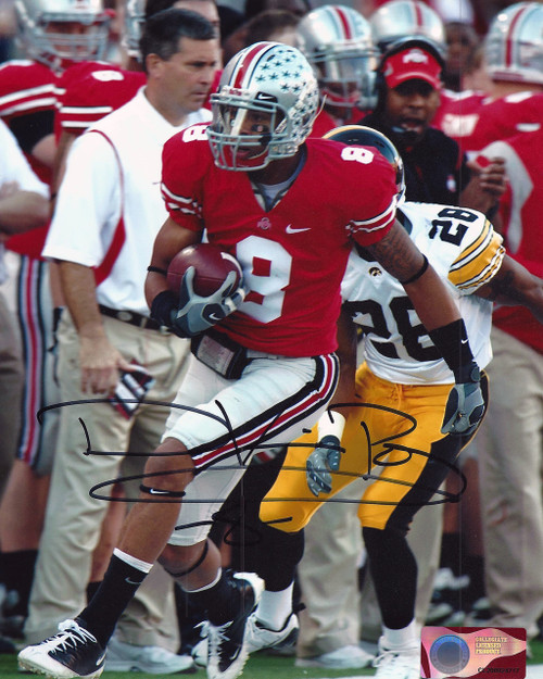 DeVier Posey OSU 8-9 8x10 Autographed Photo - Certified Authentic
