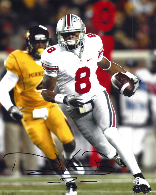 DeVier Posey OSU 8-13 8x10 Autographed Photo - Certified Authentic