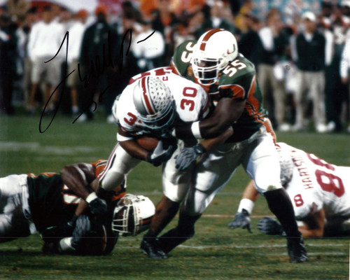 Lydell Ross OSU 8-3 8x10 Autographed Photo - Certified Authentic