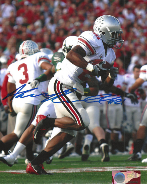 Anderson Russell OSU 8-1 8x10 Autographed Photo - Certified Authentic