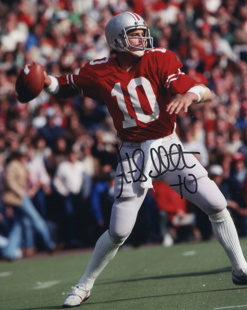 Art Schlicter OSU 8-2 8x10 Autographed Photo - Certified Authentic