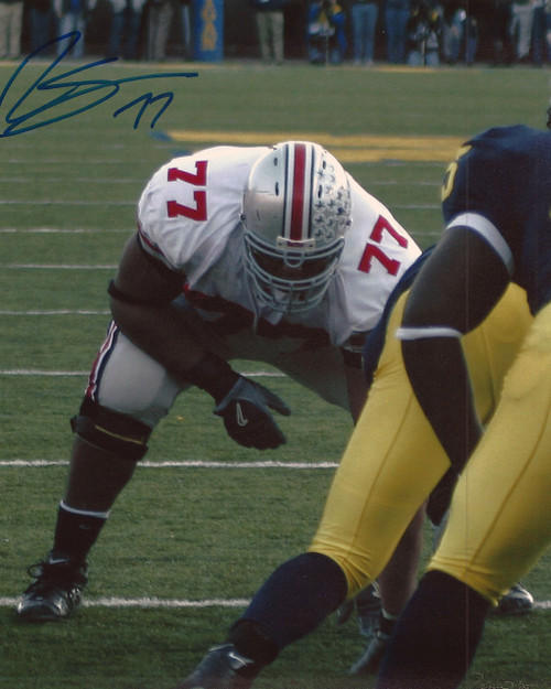 Rob Sims OSU 8-1 8x10 Autographed Photo - Certified Authentic
