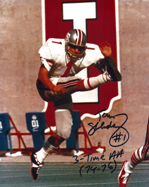 Tom Skladany OSU 8-2 8x10 Autographed Photo - Certified Authentic