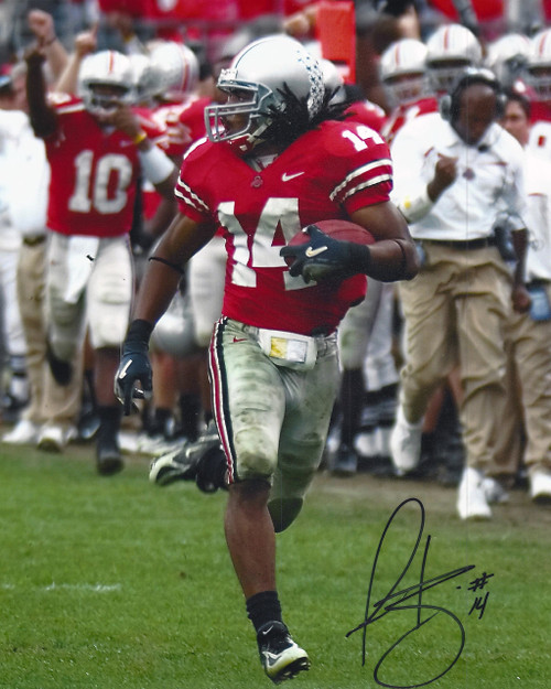 Antonio Smith OSU 8-1 8x10 Autographed Photo - Certified Authentic