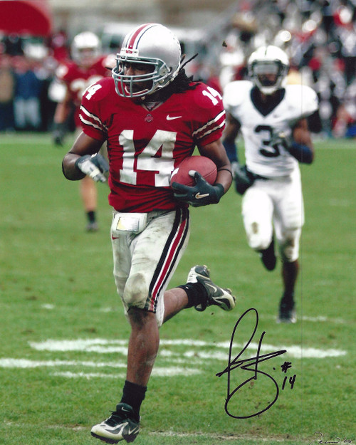 Antonio Smith OSU 8-2 8x10 Autographed Photo - Certified Authentic