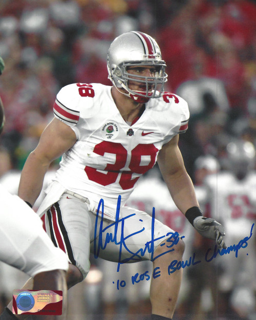 Austin Spittler OSU 8-1 8x10 Autographed Photo - Certified Authentic
