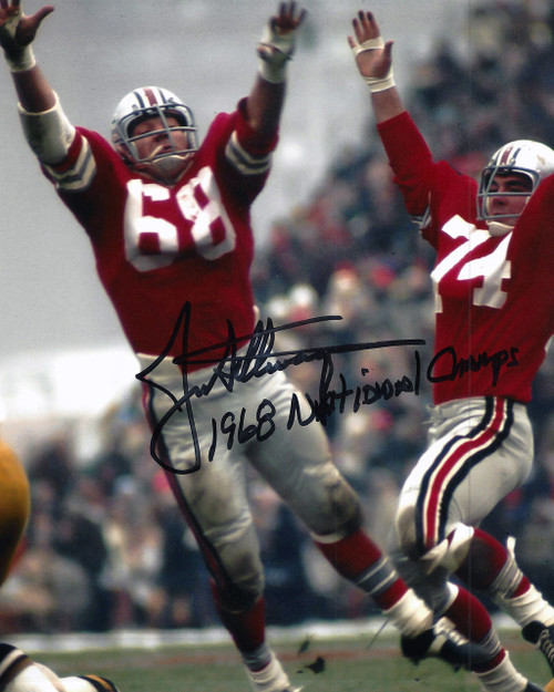 Jim Stillwagon OSU 8-5 8x10 Autographed Photo - Certified Authentic