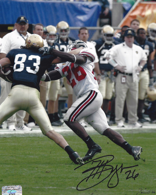 Ashton Youboty OSU 8-1 8x10 Autographed Photo - Certified Authentic