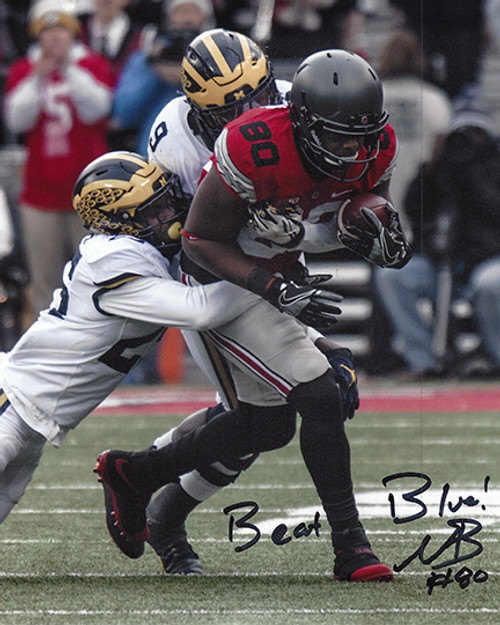 Noah Brown OSU 8-2 8x10 Autographed Photo - Certified Authentic