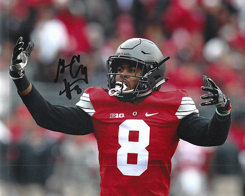 Gareon Conley OSU 8-3 8x10 Autographed Photo - Certified Authentic