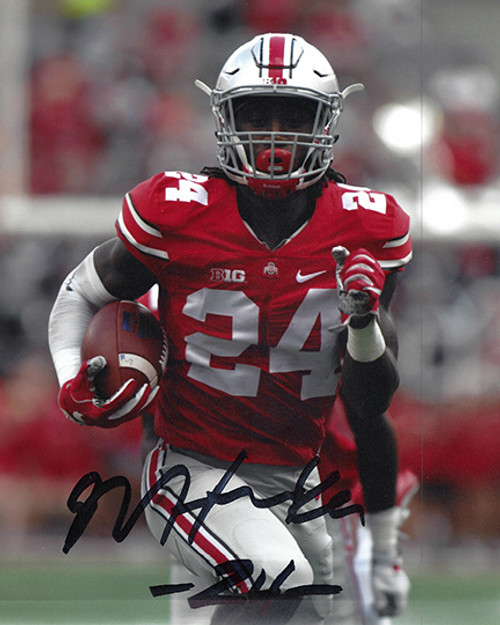 Malik Hooker OSU 8-2 8x10 Autographed Photo - Certified Authentic