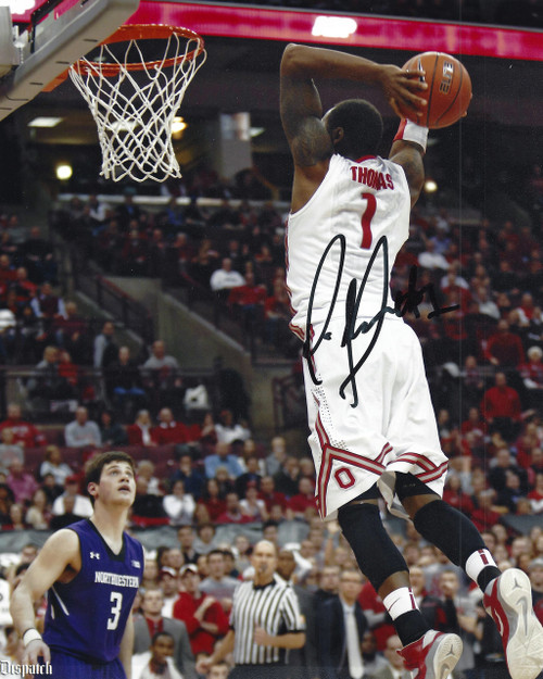 Deshaun Thomas OSU 8-1 8x10 Autographed Photo - Certified Authentic