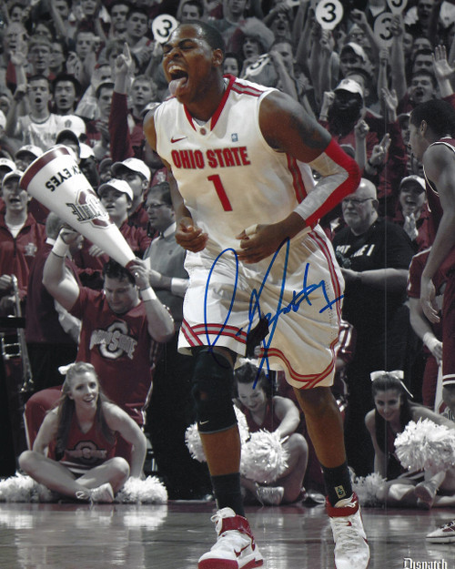 Deshaun Thomas OSU 8-4 8x10 Autographed Photo - Certified Authentic