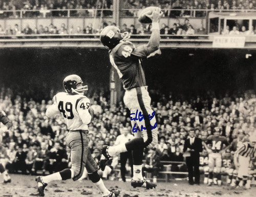 Erich Barnes New York Giants 11-1 11x14 Autographed Photo - Certified Authentic