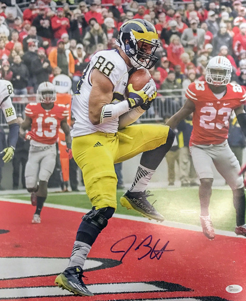 Jake Butt Michigan Wolverines 16-2 16x20 Autographed Photo - JSA Authentic