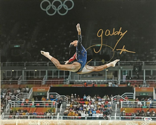 Gabby Douglas Olympics 16-3 16x20 Autographed Photo - Certified Authentic