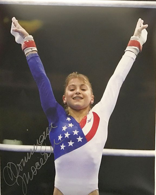 Dominique Moceanu Olympics 16-4 16x20 Autographed Photo - Certified Authentic