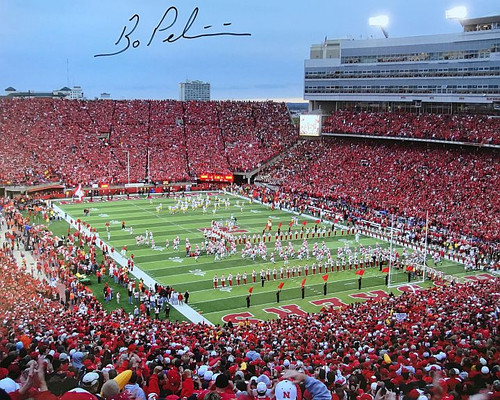 Bo Pelini Nebraska Cornhuskers 16-4 16x20 Autographed Photo - Certified Authentic