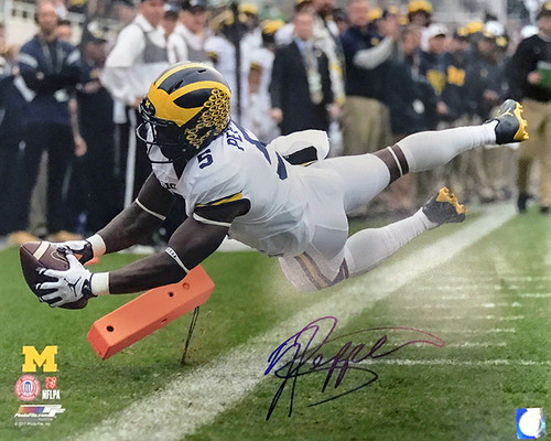 Jabrill Peppers Michigan Wolverines 16-1 16x20 Autographed Photo - Certified Authentic
