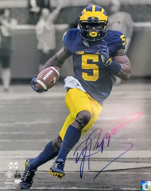 Jabrill Peppers Michigan Wolverines 16-2 16x20 Autographed Photo - Certified Authentic
