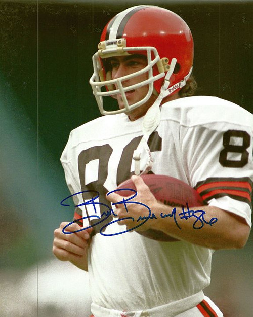 Brian Brennan Browns 8-1 8x10 Autographed Photo - Certified Authentic