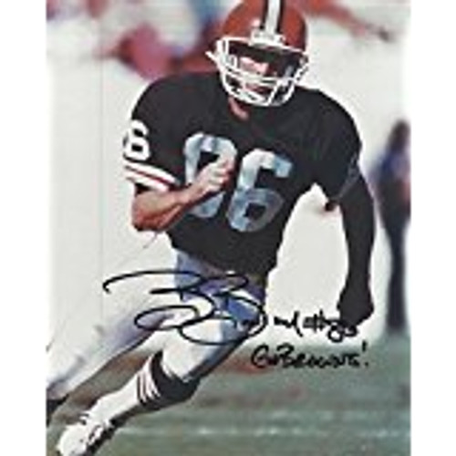 Brian Brennan Browns 8-2 8x10 Autographed Photo - Certified Authentic