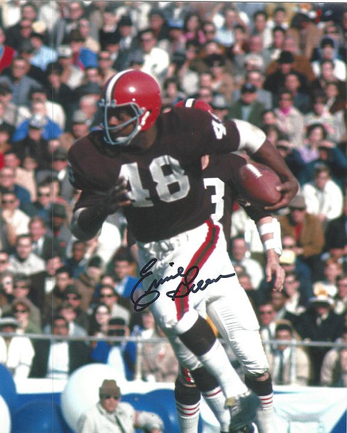 Ernie Green Browns 8-1 8x10 Autographed Photo - Certified Authentic