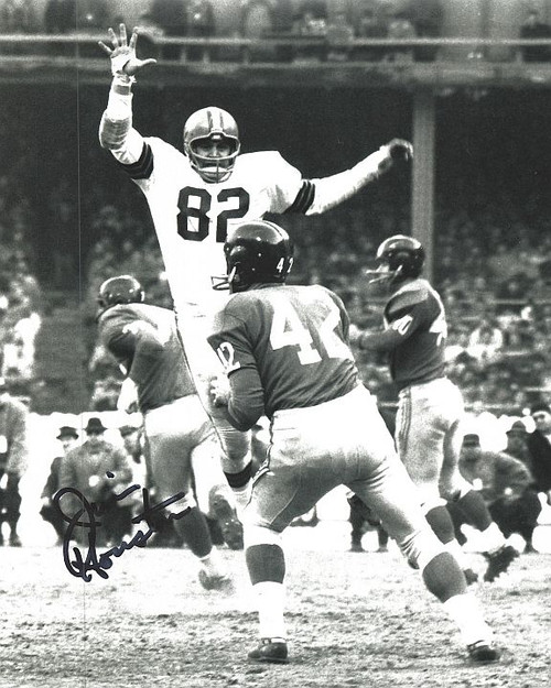 Jim Houston Browns 8-1 8x10 Autographed Photo - Certified Authentic