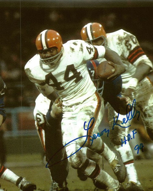 Leroy Kelly Browns 8-2 8x10 Autographed Photo - Certified Authentic