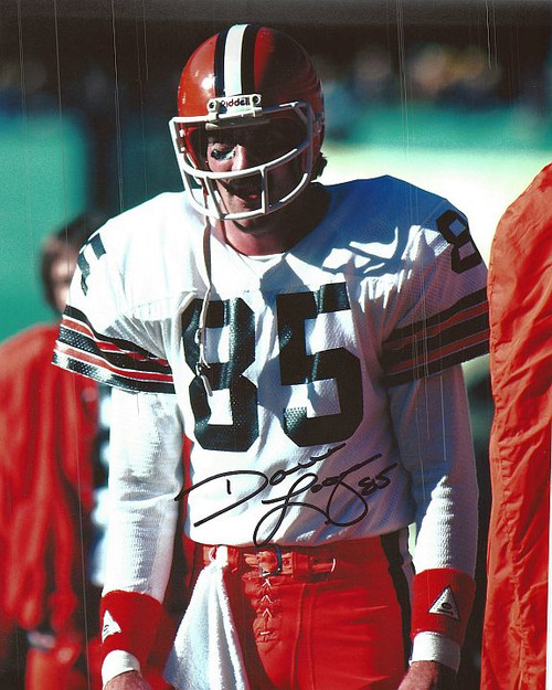 Dave Logan Browns 8-1 8x10 Autographed Photo - Certified Authentic