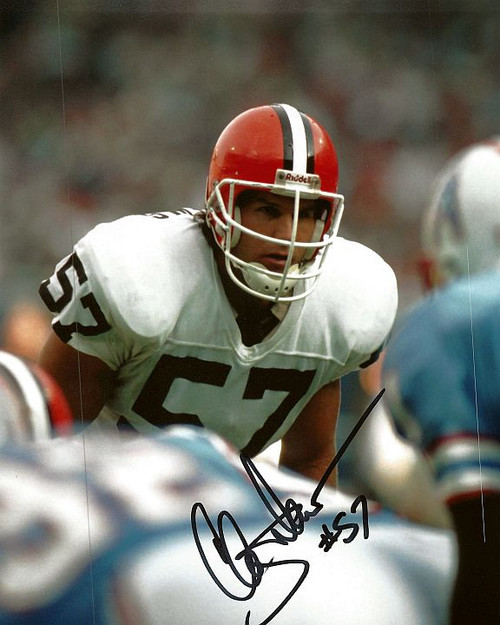 Clay Matthews Cleveland Browns 8-7 8x10 Autographed Photo - Certified Authentic