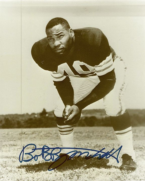 Bobby Mitchell Browns 8-1 8x10 Autographed Photo - Certified Authentic