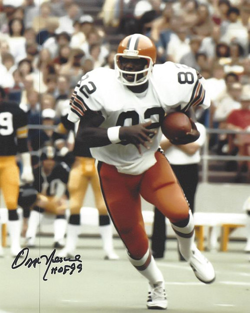 Ozzie Newsome Browns 8-4 8x10 Autographed Photo - Certified Authentic