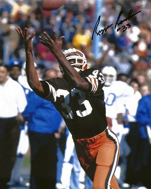 Reggie Rucker Browns 8-1 8x10 Autographed Photo - Certified Authentic