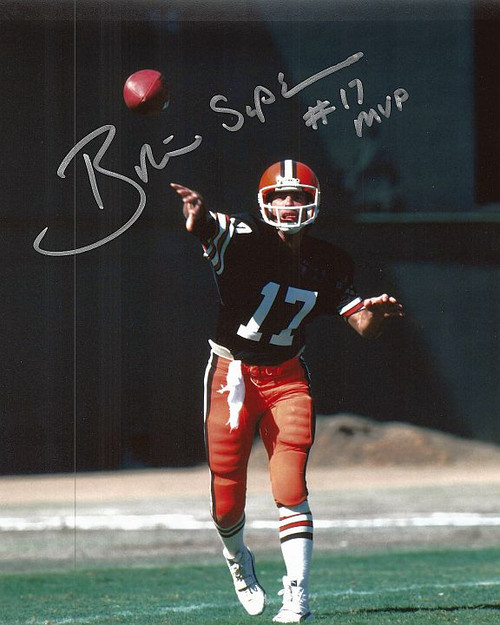 Brian Sipe Browns 8-1 8x10 Autographed Photo - Certified Authentic