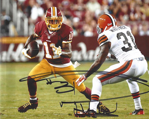 Donte Whitner Browns 8-1 8x10 Autographed Photo - Certified Authentic