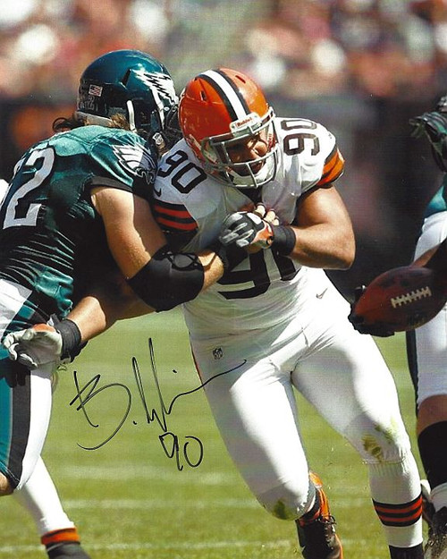 Billy Winn Browns 8-1 8x10 Autographed Photo - Certified Authentic