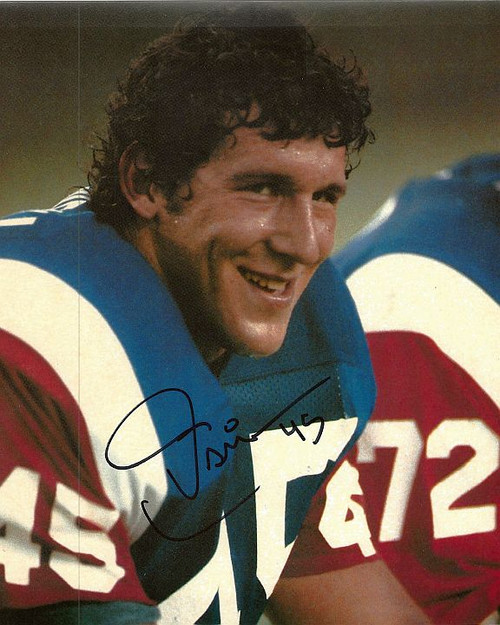 Tom Cousineau Montreal 8-1 8x10 Autographed Photo - Certified Authentic