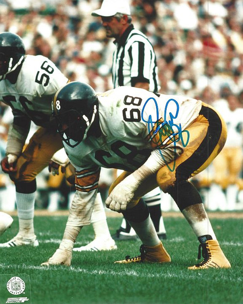LC Greenwood Steelers 8-2 8x10 Autographed Photo - Certified Authentic