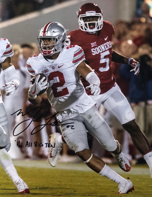 Marshon Lattimore OSU 11-1 11x14 Autographed Photo - Certified Authentic