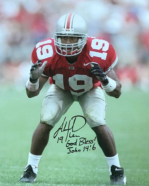 Ahmad Plummer OSU 16-1 16x20 Autographed Photo - Certified Authentic