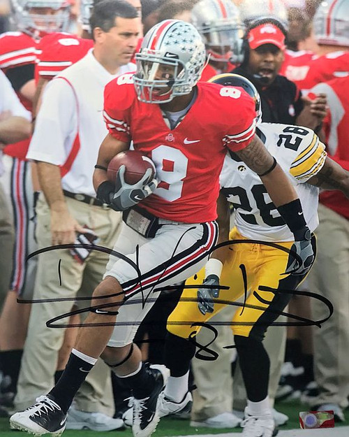 DeVier Posey OSU 16-9 16x20 Autographed Photo - Certified Authentic