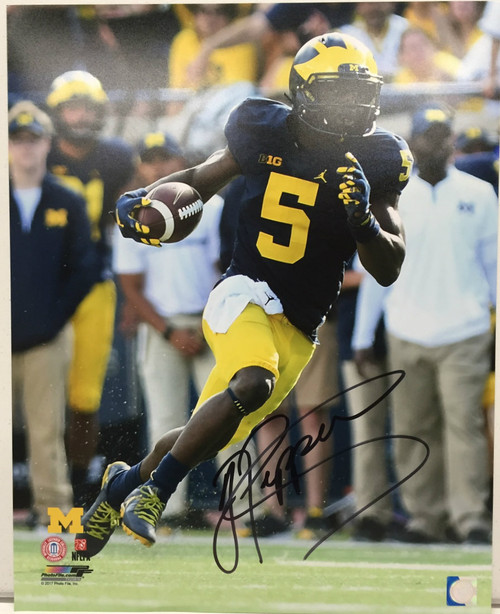Jabrill Peppers Michigan Wolverines 16-3 16x20 Autographed Photo - Certified Authentic